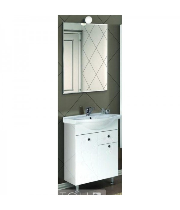 Комплект мебели Акватон Лиана 60 М с бельевой корзиной