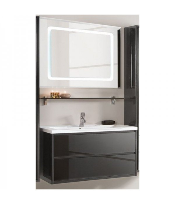 Комплект мебели Акватон Римини 100 черный
