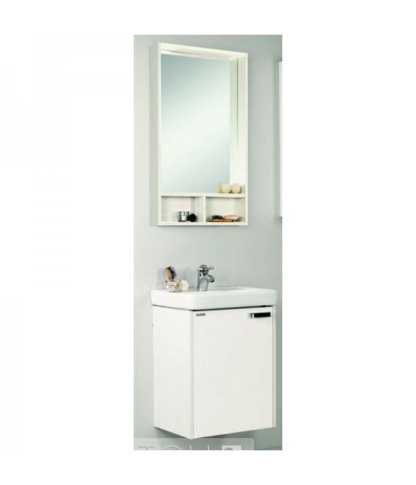 Комплект мебели Акватон Йорк 50 М белый/выбеленное дерево