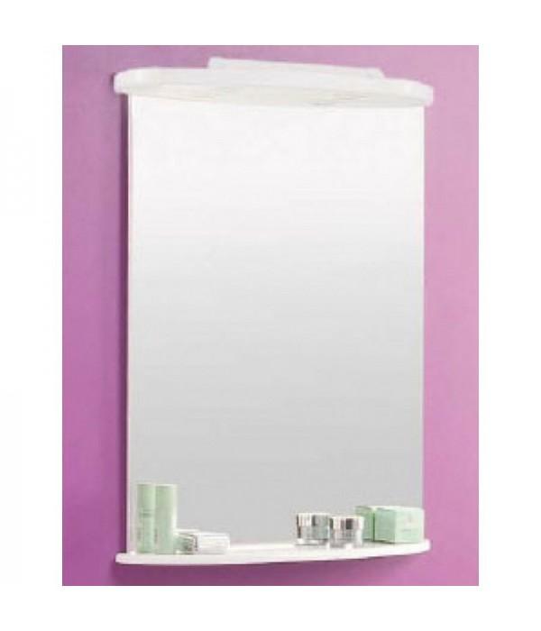 Зеркало с полкой для ванной Акватон Минима 65