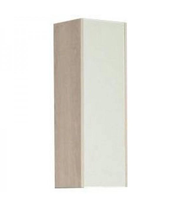 Шкаф одностворчатый Акватон Йорк 30, ясень/белый