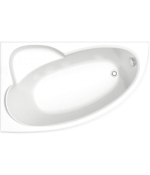 Акриловая ванна Bas Сагра 160 см L