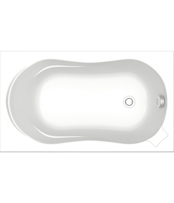 Акриловая ванна Bas Кэмерон стандарт 120 см