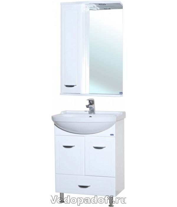 Комплект мебели Bellezza Классик 55 с нижним ящиком