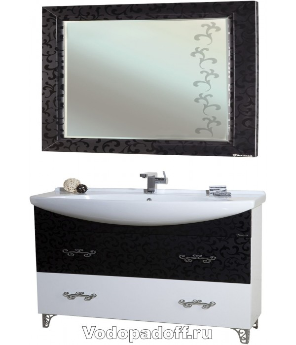 Комплект мебели Bellezza Маргарита 105, черный