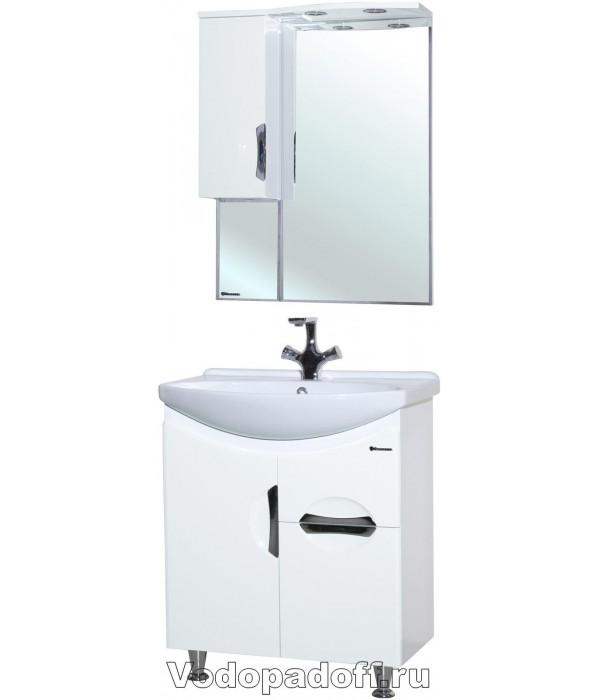 Комплект мебели Bellezza Лагуна 65 с 1 ящиком, белый