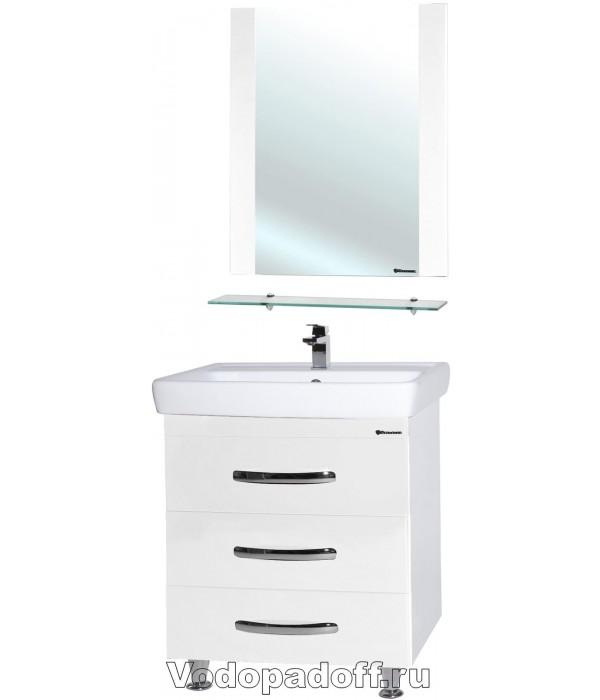 Комплект мебели Bellezza Рокко 50 напольная белый