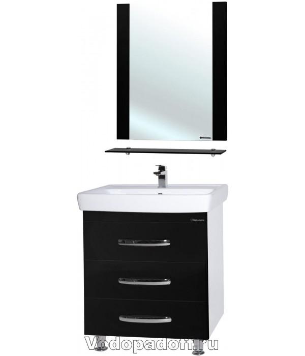Комплект мебели Bellezza Рокко 50 напольная черный