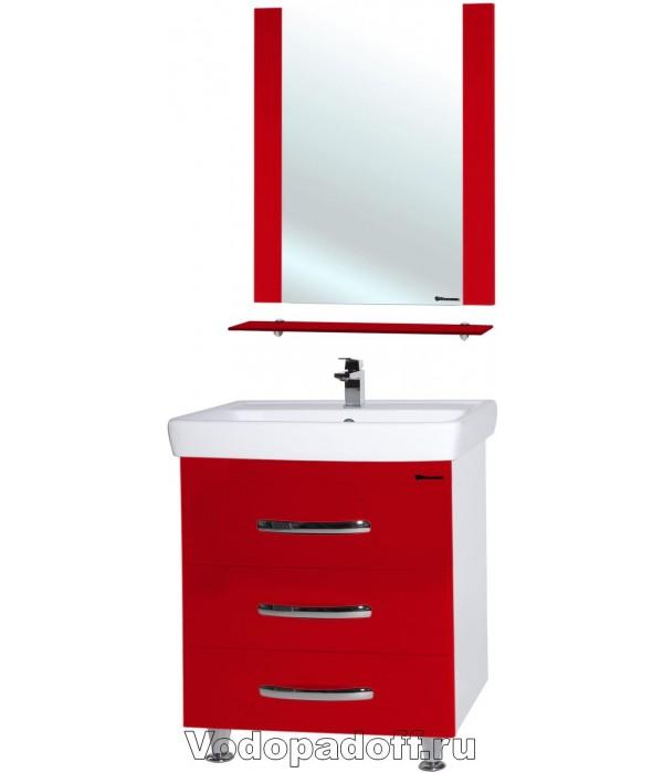 Комплект мебели Bellezza Рокко 60 напольная красная