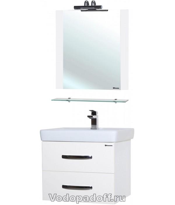 Комплект мебели Bellezza Рокко 50 подвесная белый