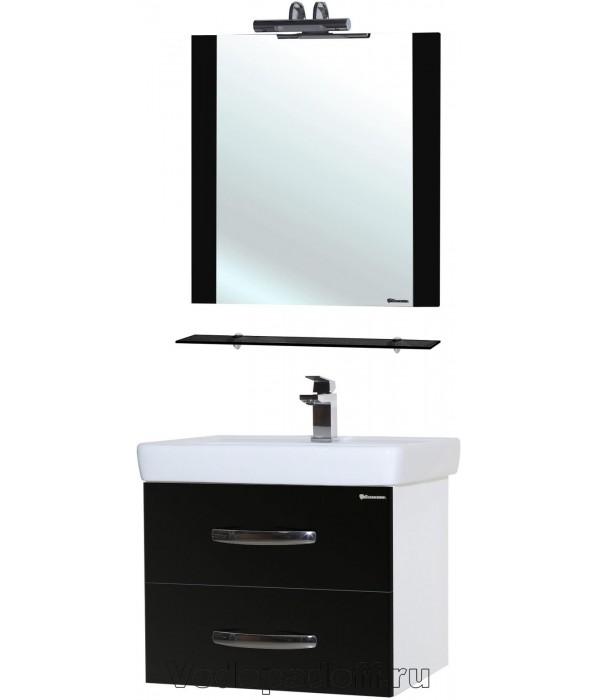 Комплект мебели Bellezza Рокко 50 подвесная черный
