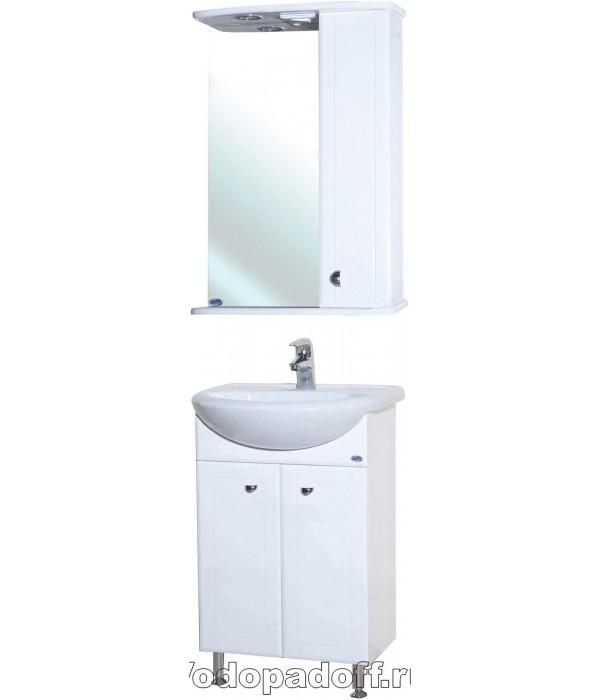 Комплект мебели Bellezza Уют 45, белый