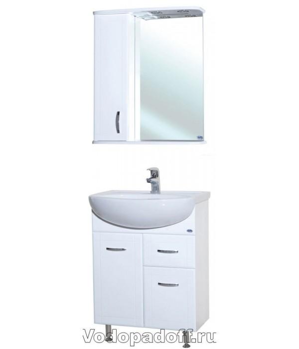 Комплект мебели Bellezza Уют 60 с 1 ящиком, белый