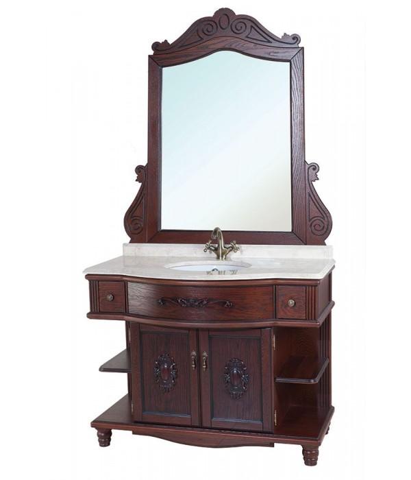Комплект мебели Bellezza Аврора 115, коричневый