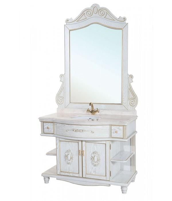 Комплект мебели Bellezza Аврора 115, белый