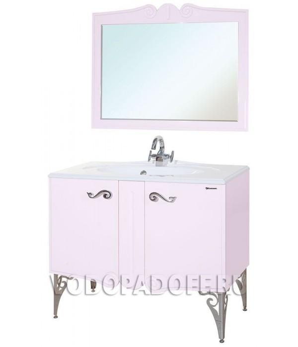 Комплект мебели Bellezza Эстель 100, розовый