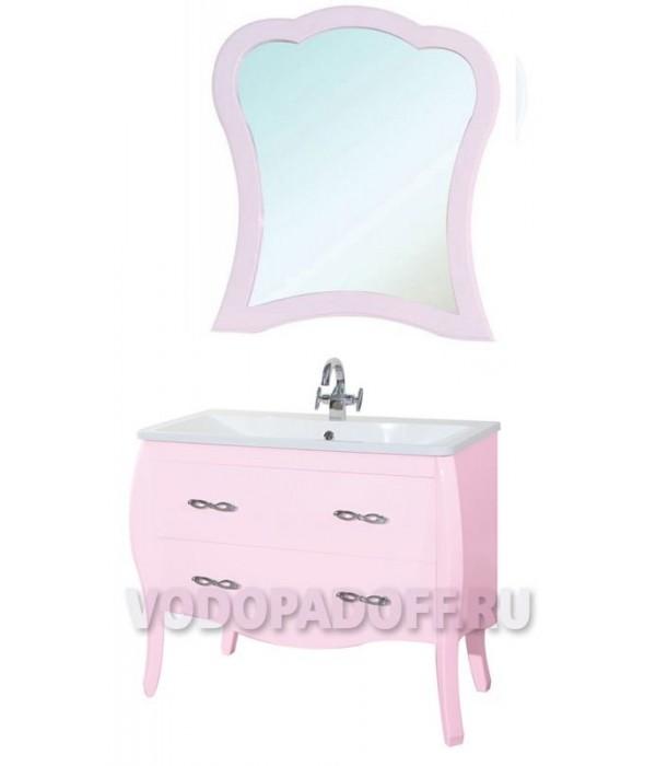 Комплект мебели Bellezza Грация 100, розовый