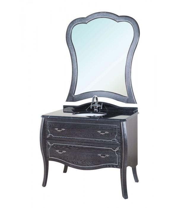 Комплект мебели Bellezza Грация Люкс 90, черный