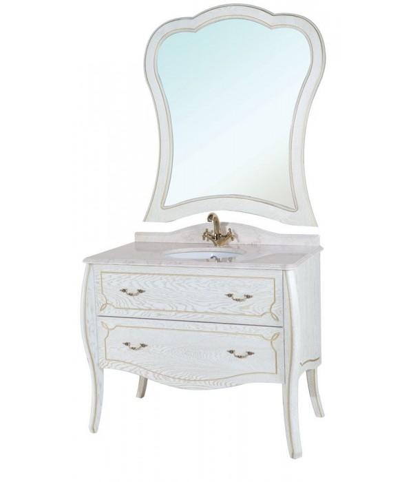 Комплект мебели Bellezza Грация Люкс 90, белый