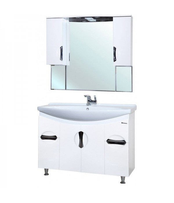 Комплект мебели Bellezza Лагуна 105, белый