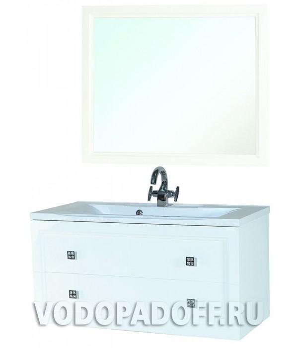 Комплект мебели Bellezza Милан 90, белый