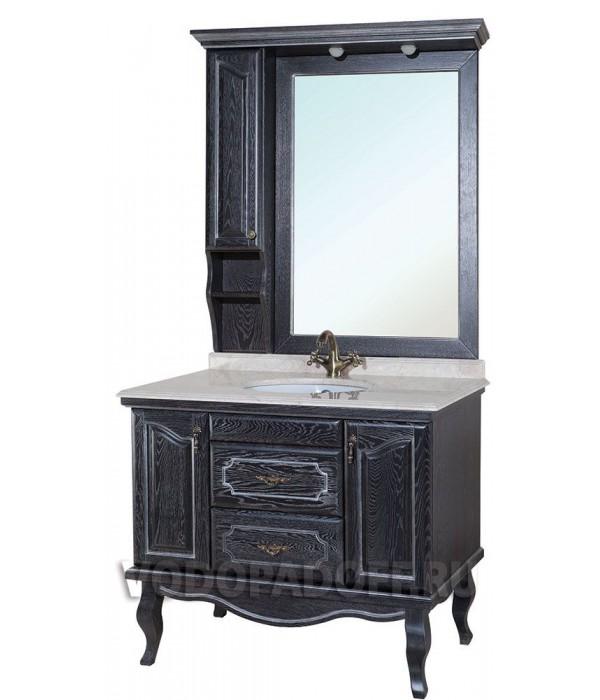 Комплект мебели Bellezza Рим 110, черный