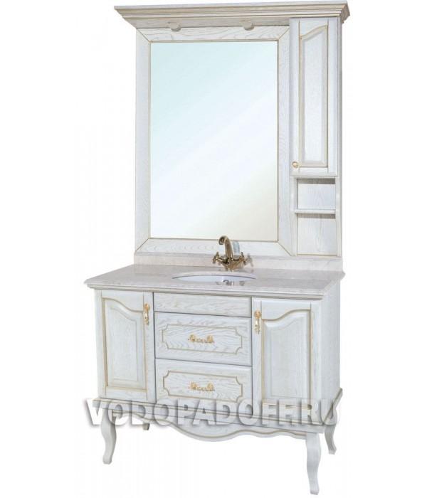 Комплект мебели Bellezza Рим 110, белый