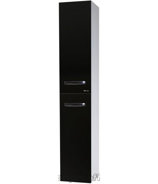 Пенал Bellezza Рокко 35 подвесной, черный