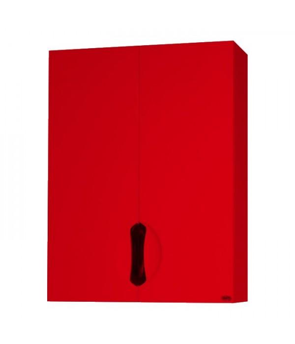 Шкаф подвесной Bellezza Лагуна 60, красный