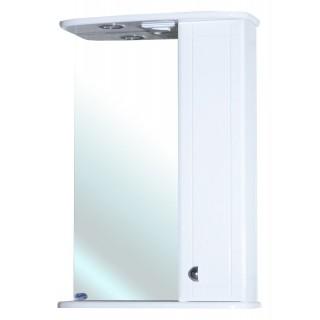 Зеркало-шкаф для ванной Bellezza Астра 50 белый
