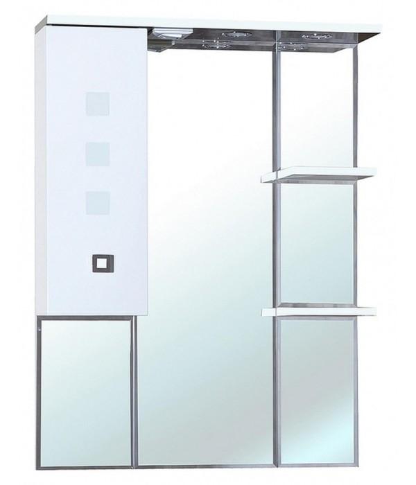 Зеркало-шкаф Bellezza Натали 80 белый