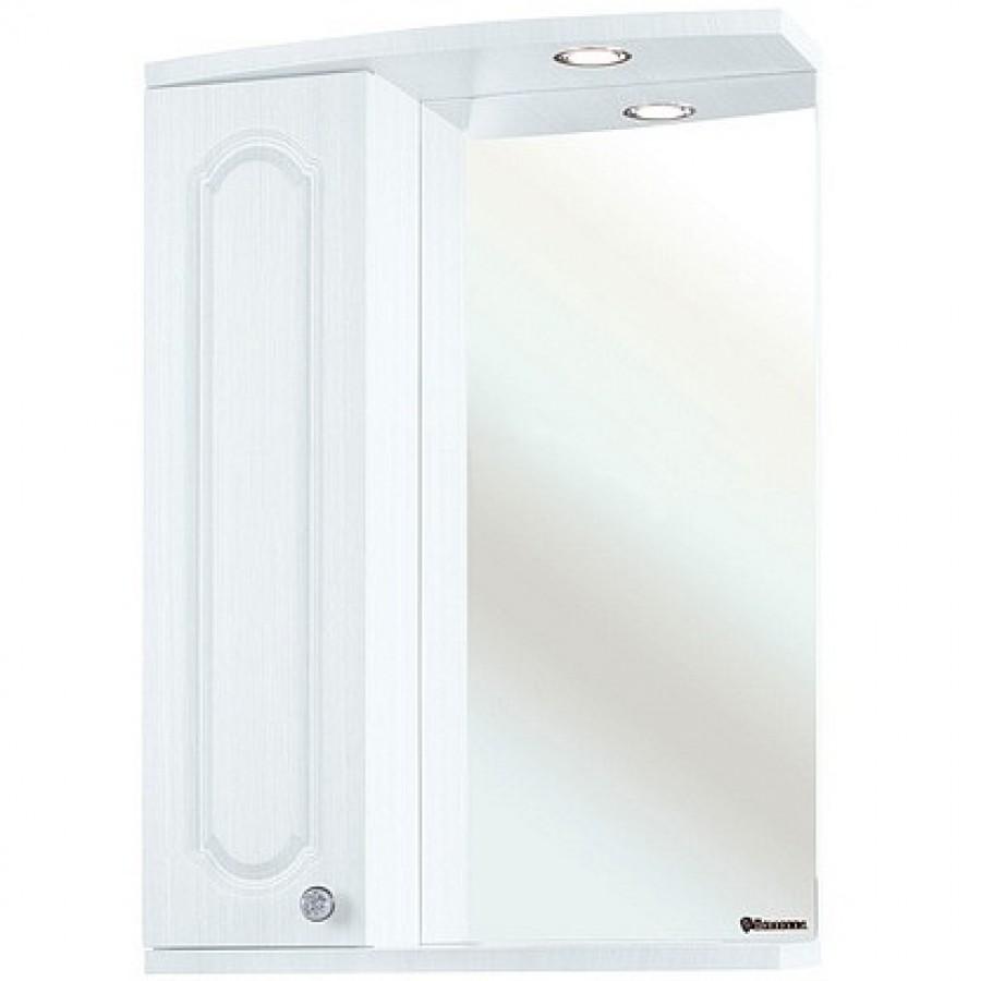Зеркало-шкаф Bellezza Камелия 55, белый