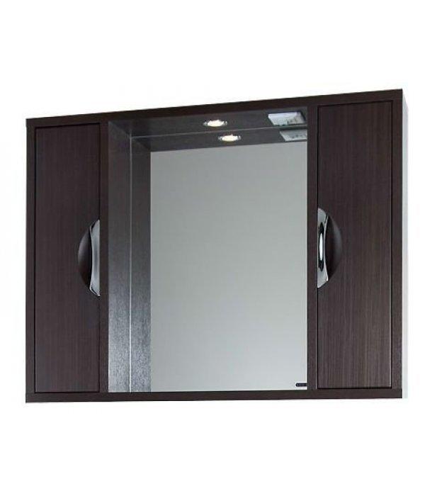Зеркало для ванной 120 1.9, венге
