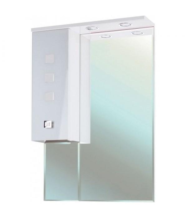 Зеркало-шкаф Bellezza Натали 60 белое