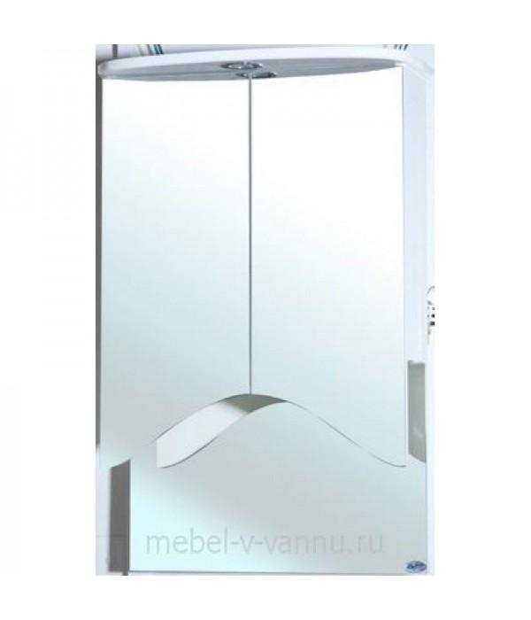 Зеркальный шкаф Bellezza Мимоза 50R