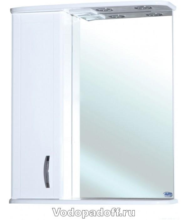 Зеркало-шкаф Bellezza Астра 60, белый