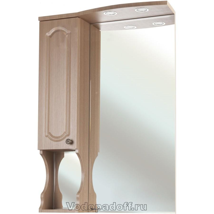Зеркало-шкаф Bellezza Камелия 75. бежевый