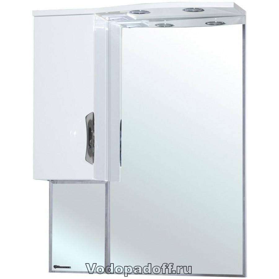 Зеркало-шкаф Bellezza Лагуна 65, белый