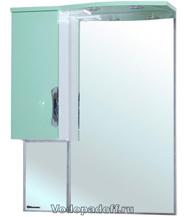 Зеркало-шкаф Bellezza Лагуна 65, салатовый