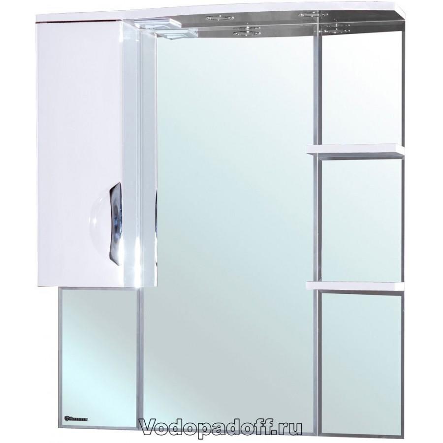Зеркало-шкаф Bellezza Лагуна 85, белый