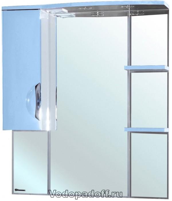 Зеркало-шкаф Bellezza Лагуна 85, голубой