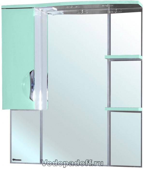 Зеркало-шкаф Bellezza Лагуна 105, салатовый