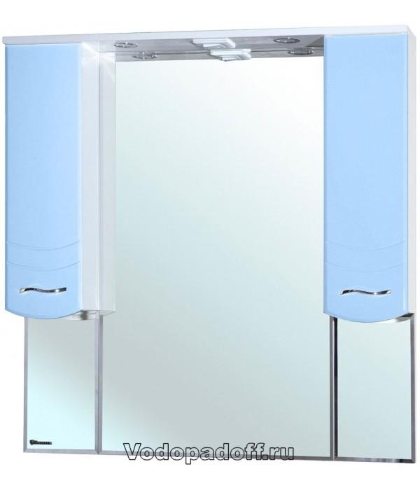 Зеркало-шкаф Bellezza Мари 105, голубой