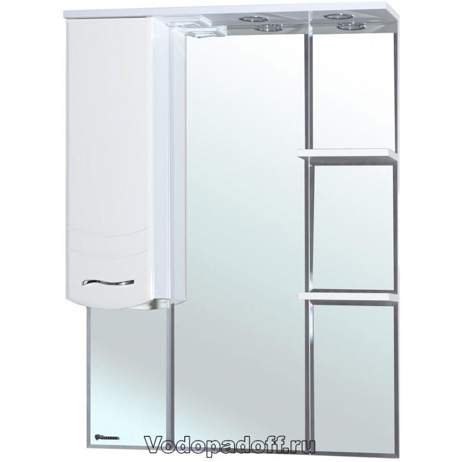 Зеркало-шкаф Bellezza Мари 75, белый