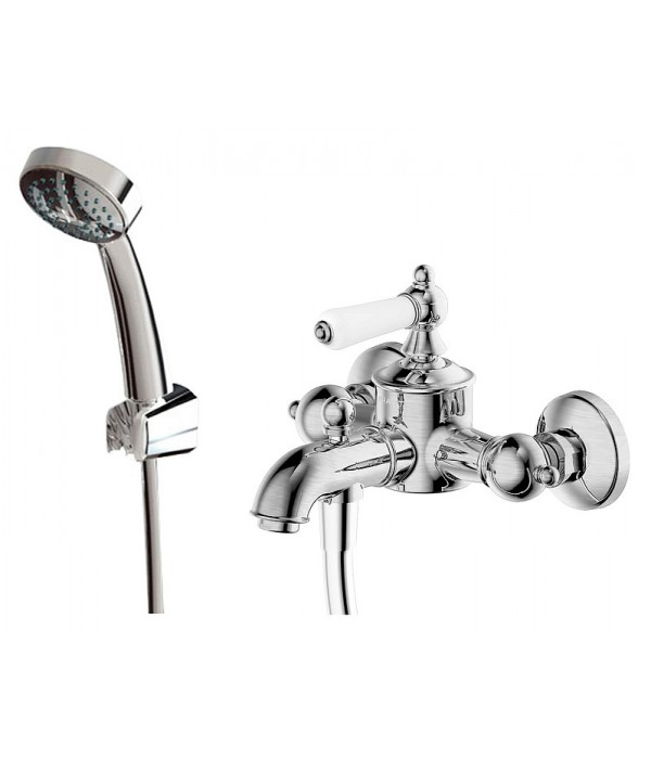 Смеситель Bravat Art F675109C-B для ванны с душем