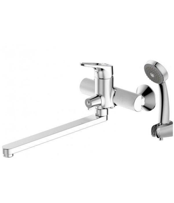 Смеситель Bravat Drop-D F648162C-LB для ванны с душевым гарнитуром