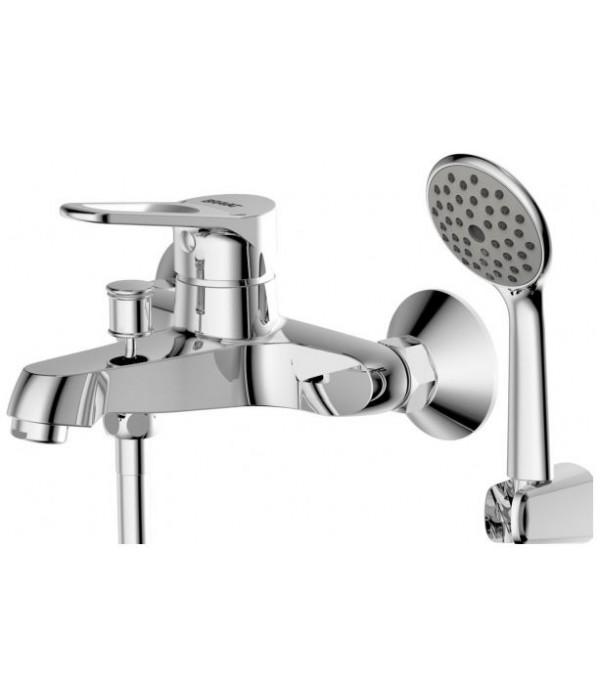 Смеситель Bravat Eco-D F693158C-B для ванны с душевым гарнитуром