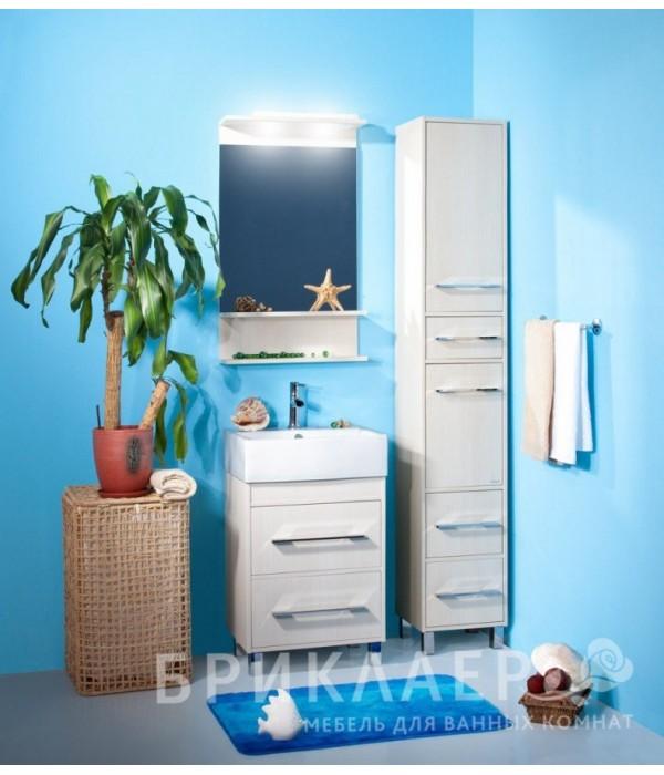 Комплект мебели Бриклаер Чили 55, светлая лиственница