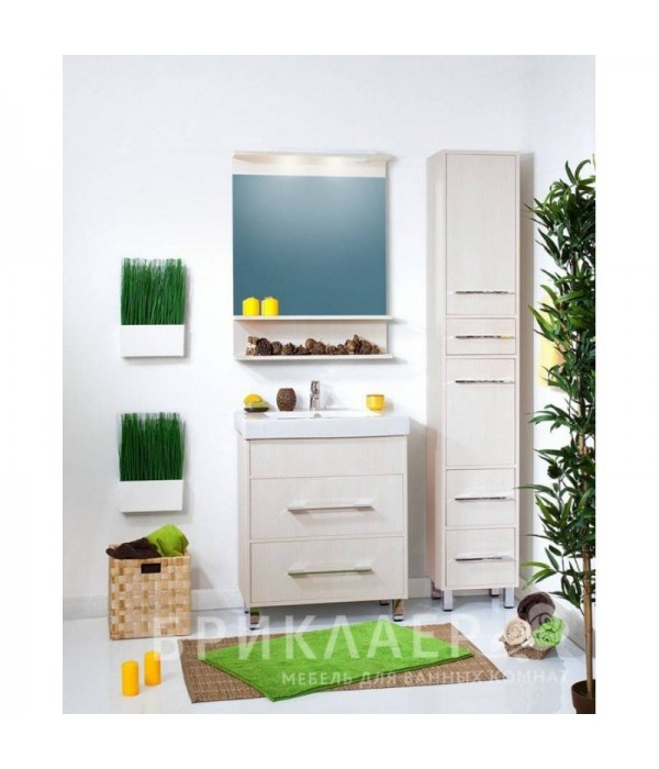 Комплект мебели Бриклаер Чили 70, светлая лиственница