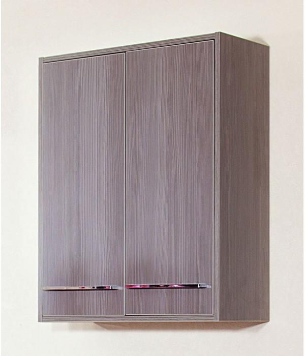 Шкаф навесной Бриклаер Чили 62, серый